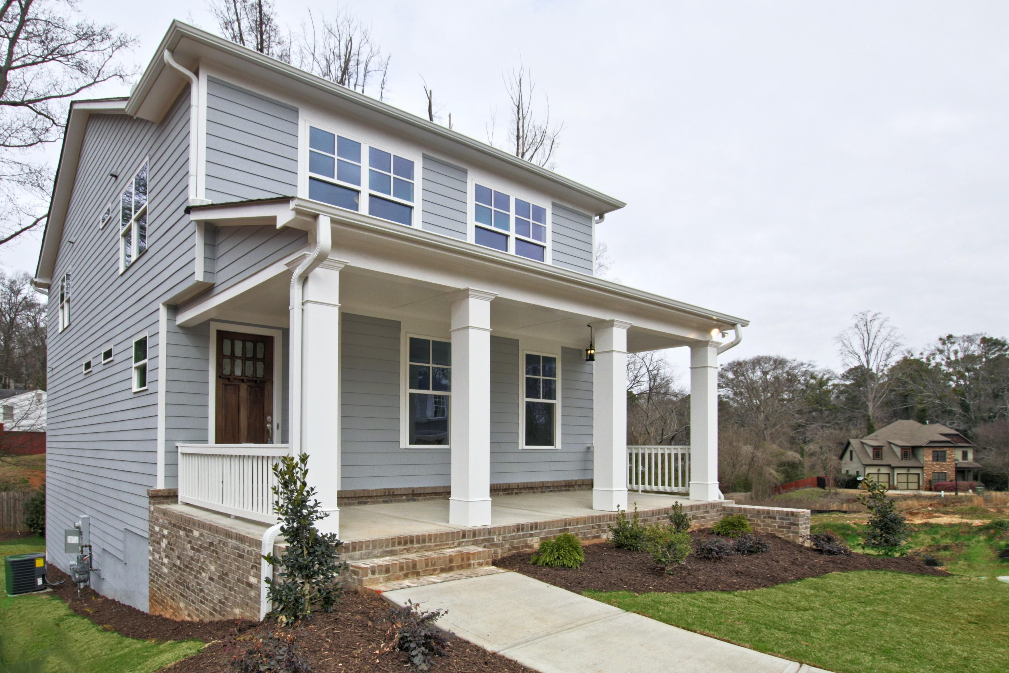 Exterior featured in the Chestnut I By O'Dwyer Homes in Atlanta, GA