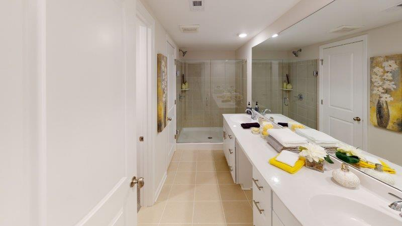 Bathroom featured in the Corban (Exterior Unit) By O'Dwyer Homes in Atlanta, GA