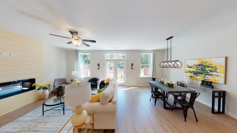 Living Area featured in the Corban (Exterior Unit) By O'Dwyer Homes in Atlanta, GA