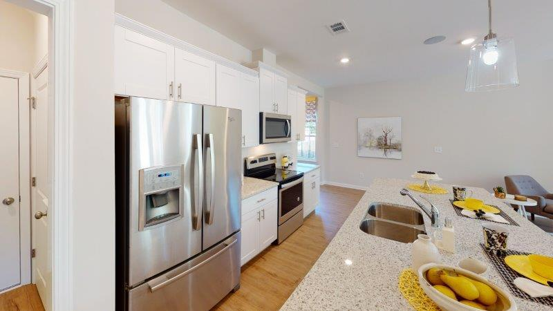 Kitchen featured in the Corban (Exterior Unit) By O'Dwyer Homes in Atlanta, GA
