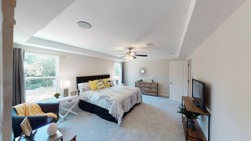 Bedroom featured in the Corban (Exterior Unit) By O'Dwyer Homes in Atlanta, GA