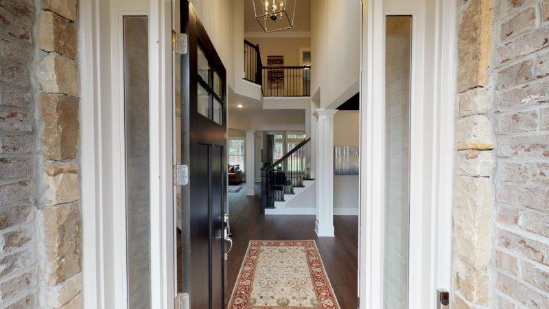 Exterior featured in The Longford By O'Dwyer Homes in Atlanta, GA