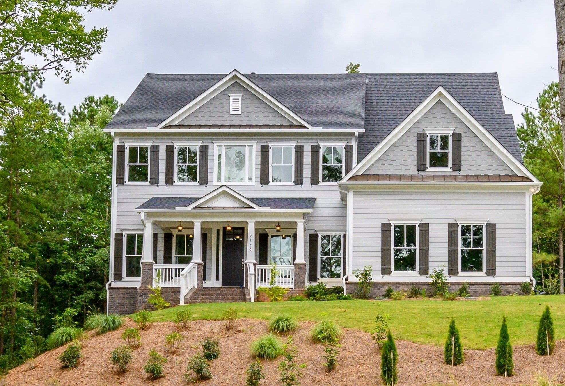 Exterior featured in The Westport By O'Dwyer Homes in Atlanta, GA