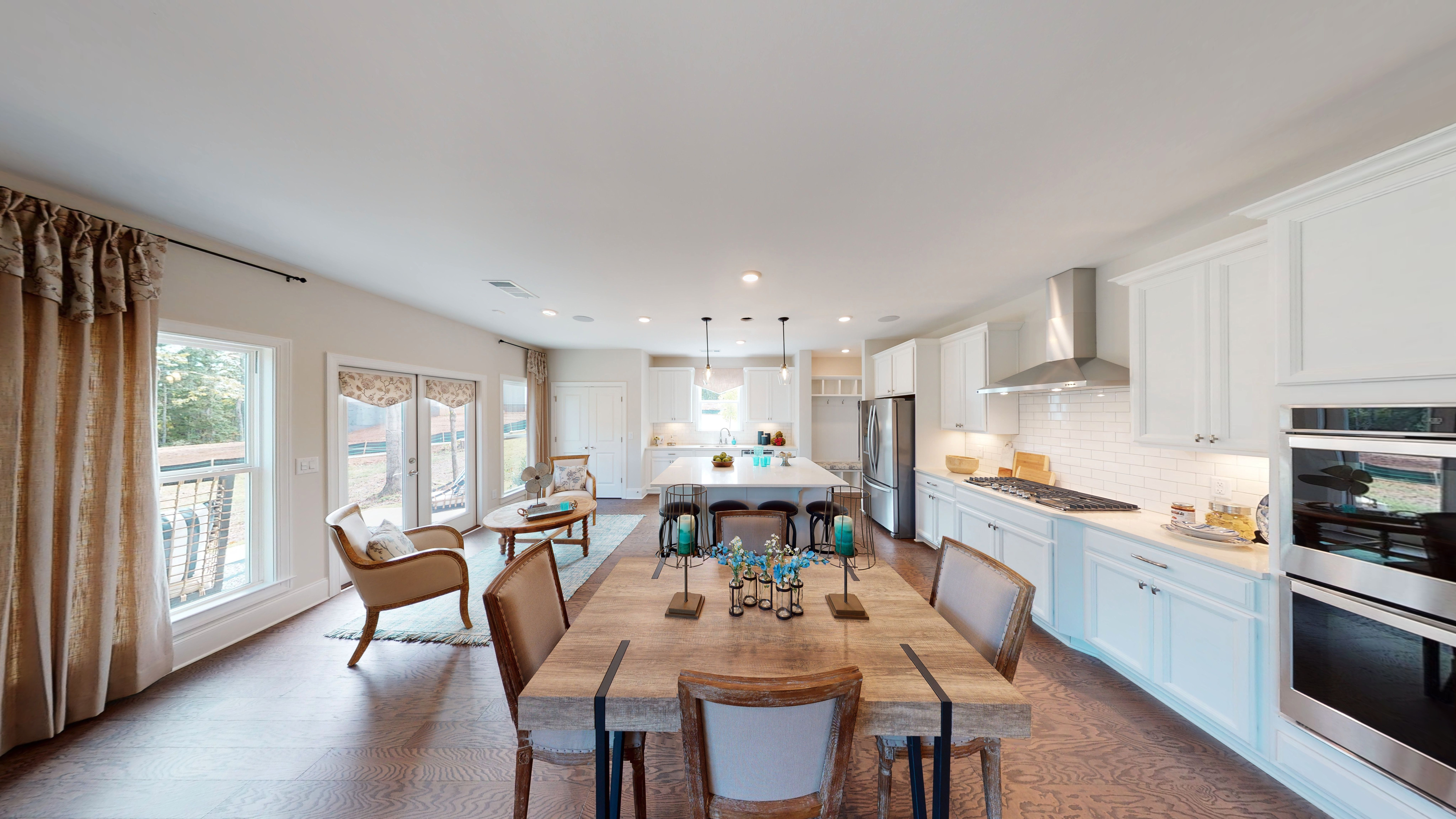 Living Area featured in The Westport By O'Dwyer Homes in Atlanta, GA