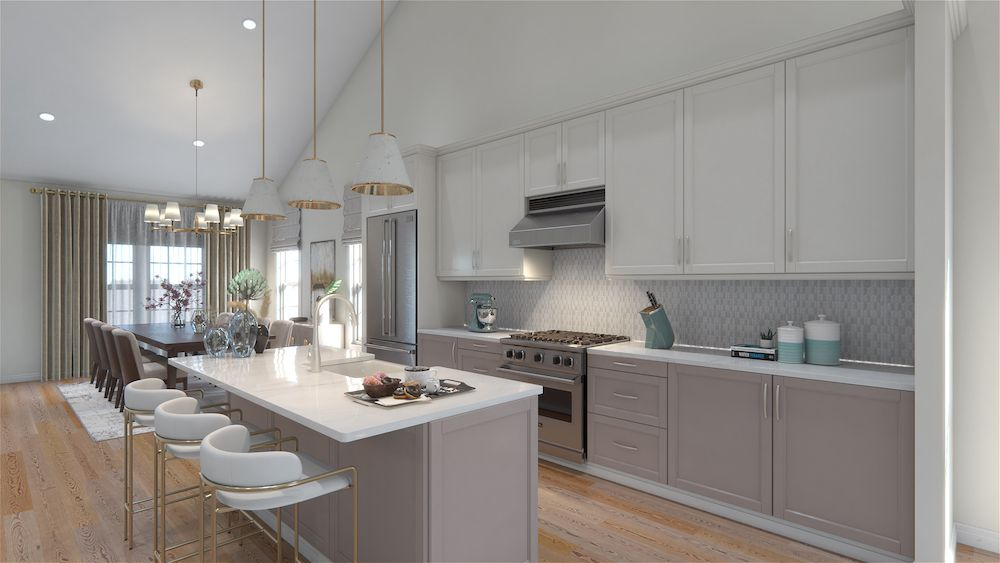 Kitchen featured in the Barolo Classic By Vineyards at Mount Sinai in Nassau-Suffolk, NY