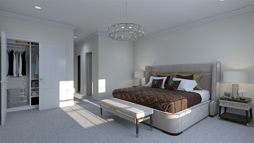 Bedroom featured in the Tuscany By Vineyards at Mount Sinai in Nassau-Suffolk, NY