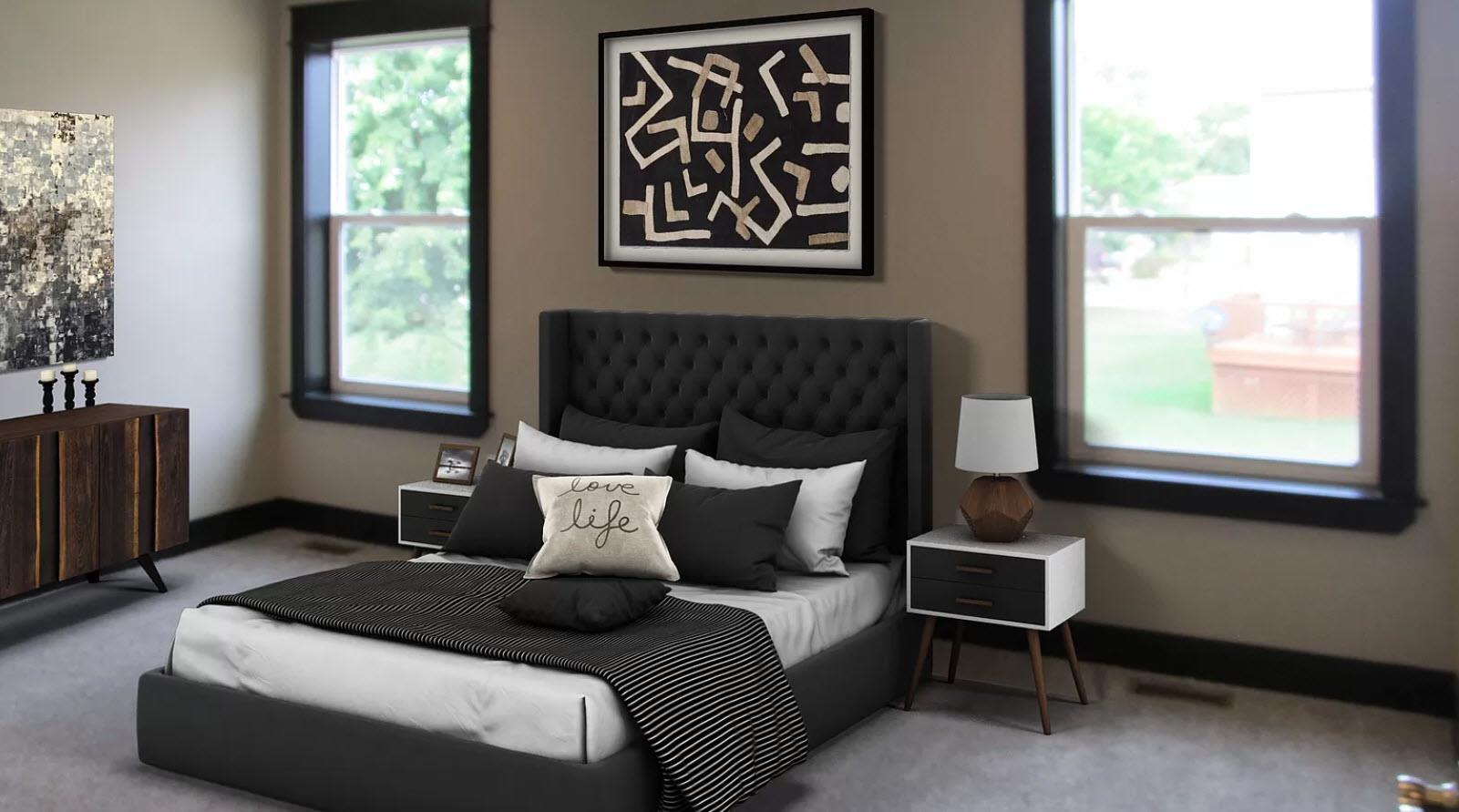 Bedroom featured in the Stanford IV By Oak Ridge Homes in Lansing, MI