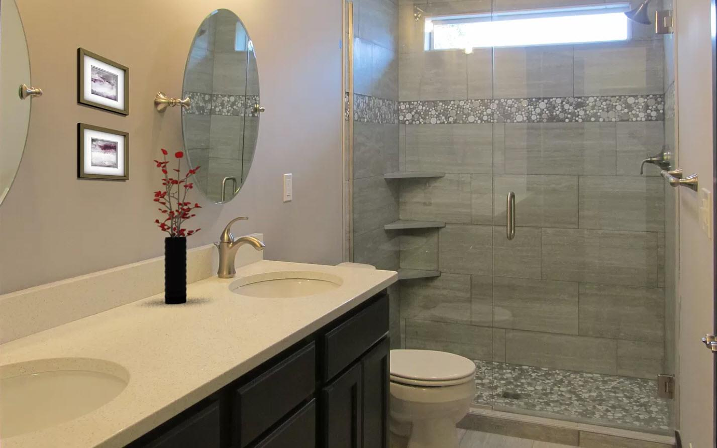 Bathroom featured in the Stanford IV By Oak Ridge Homes in Lansing, MI