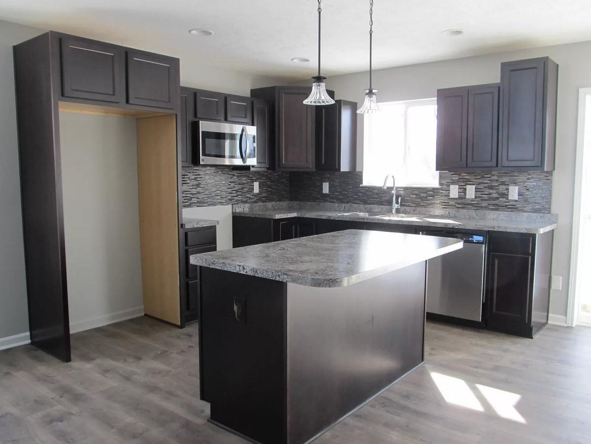 Kitchen featured in the Stanford IV By Oak Ridge Homes in Lansing, MI