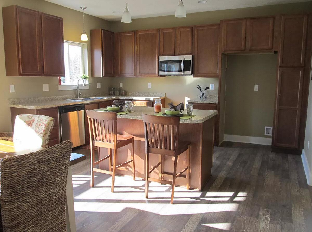 Kitchen featured in the Hartford By Oak Ridge Homes in Lansing, MI