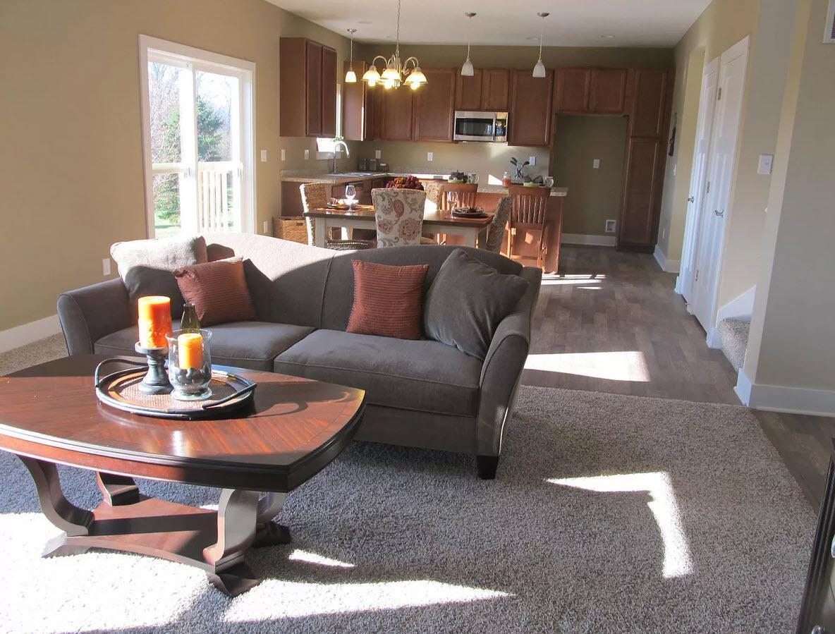 Living Area featured in the Hartford By Oak Ridge Homes in Lansing, MI
