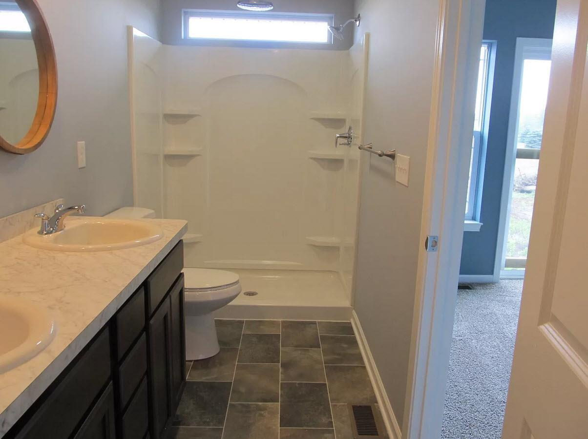 Bathroom featured in the Stanford By Oak Ridge Homes in Ann Arbor, MI
