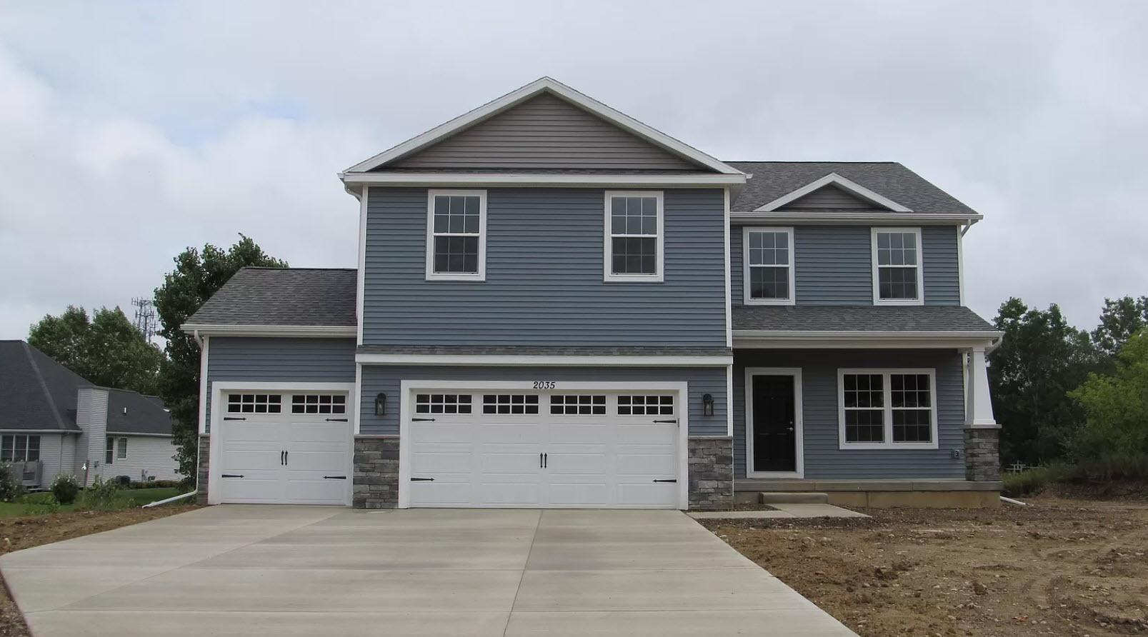 Exterior featured in the Wellington By Oak Ridge Homes in Ann Arbor, MI