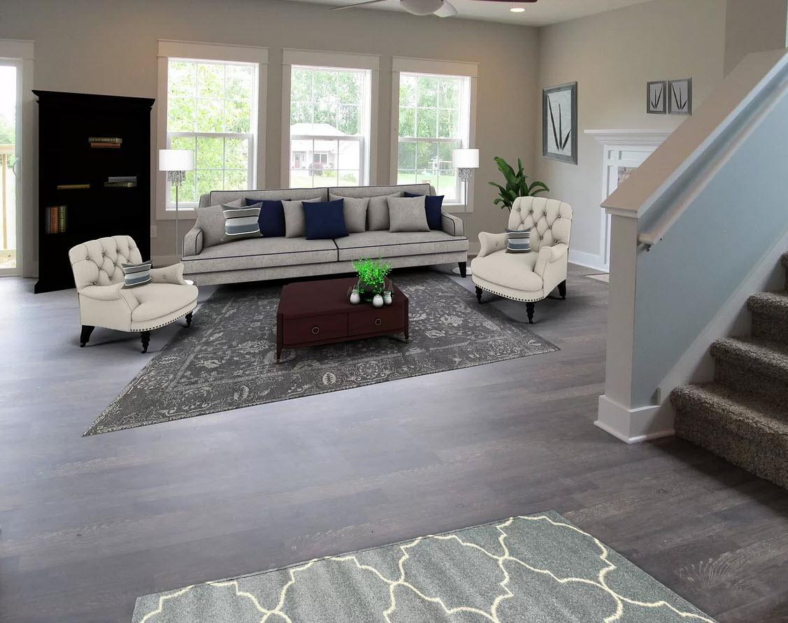 Living Area featured in the Wellington By Oak Ridge Homes in Lansing, MI