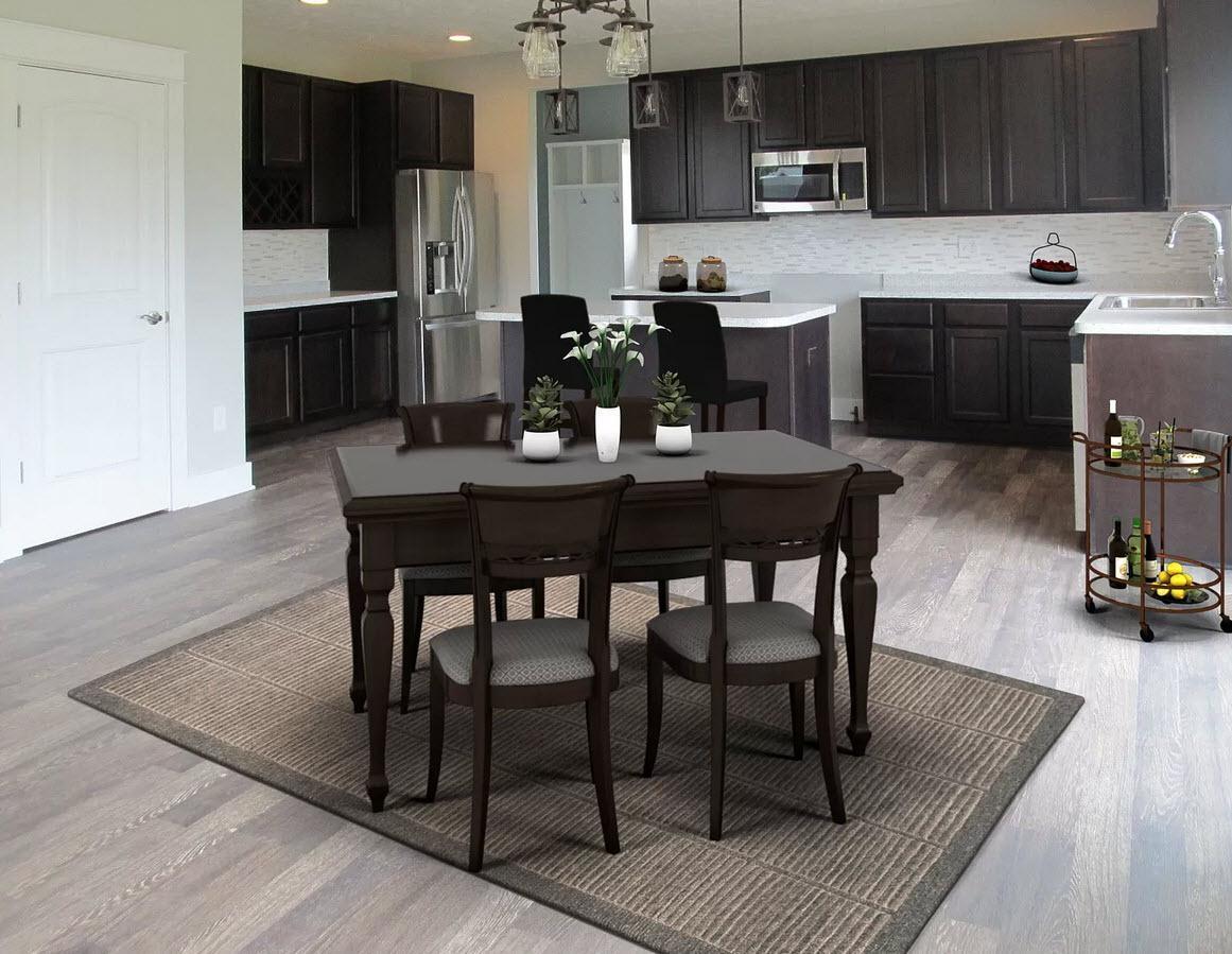Kitchen featured in the Wellington By Oak Ridge Homes in Lansing, MI
