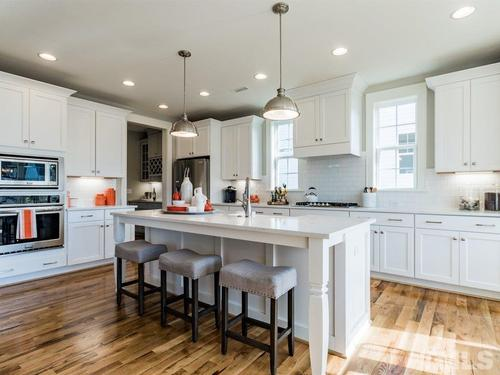 Kitchen-in-Lynnwood-at-12 Oaks by Saussy Burbank-in-Holly Springs