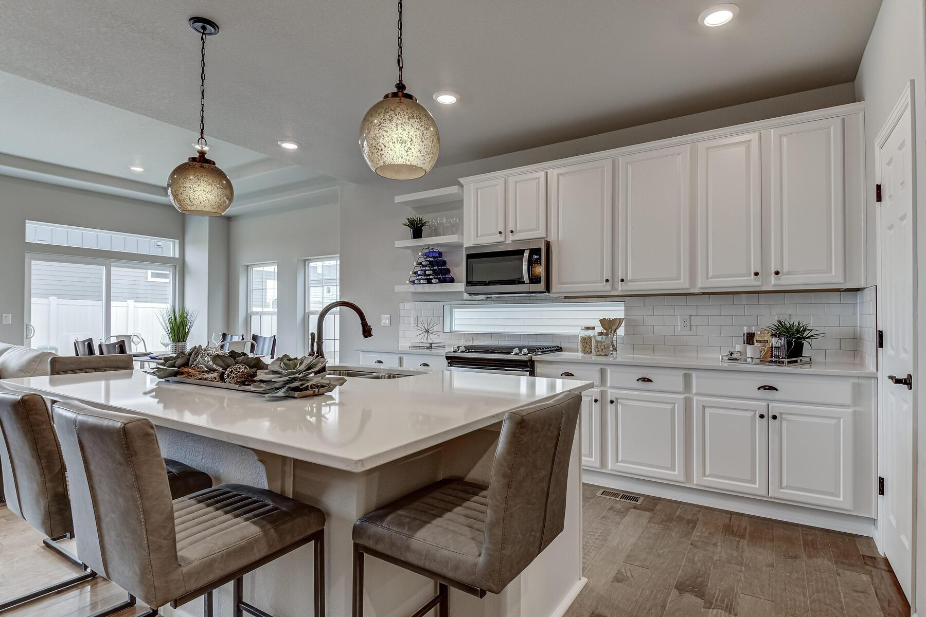 Kitchen featured in the Hideaway By OakwoodLife in Denver, CO