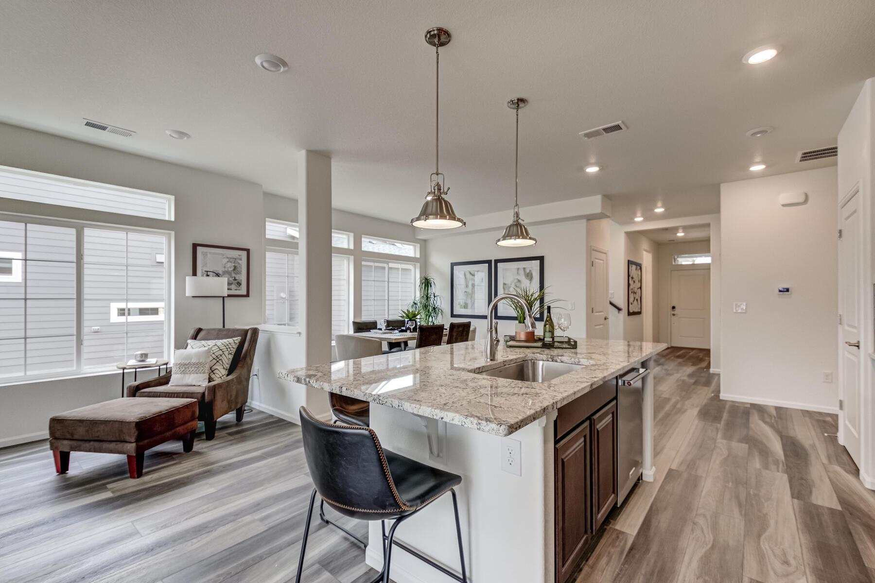 Kitchen featured in the Haven By OakwoodLife in Denver, CO