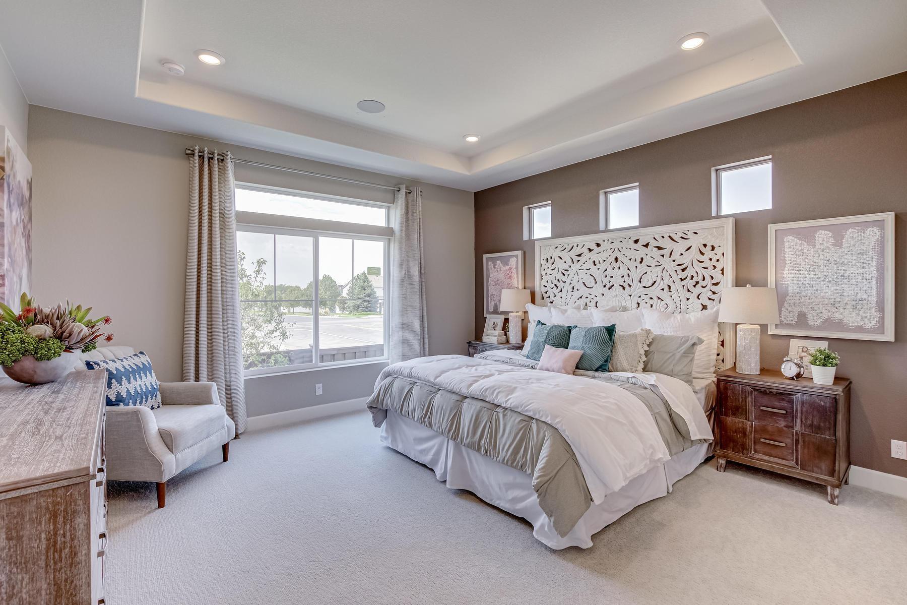 Bedroom featured in the Aspen By OakwoodLife in Denver, CO