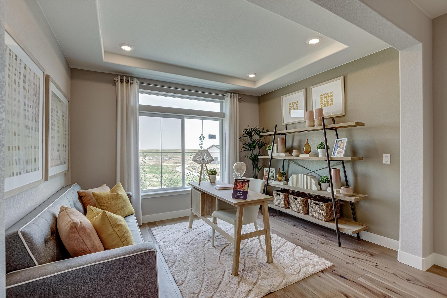 Living Area featured in the Harbor By OakwoodLife in Denver, CO