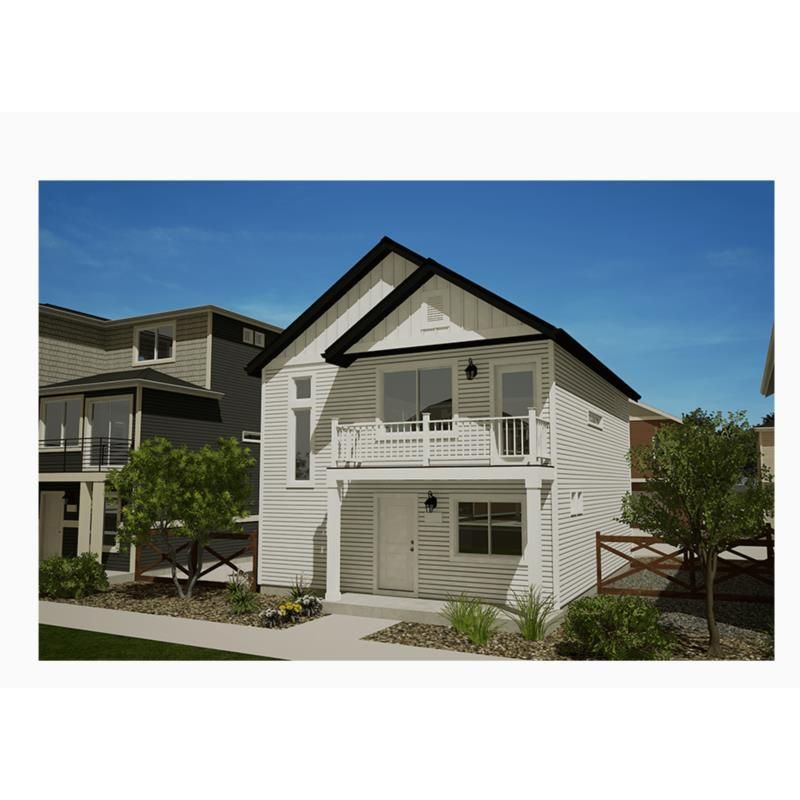 Exterior featured in the Muir By Oakwood Homes in Colorado Springs, CO