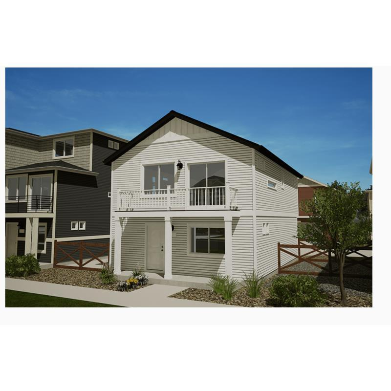 Exterior featured in the Moreno By Oakwood Homes in Colorado Springs, CO