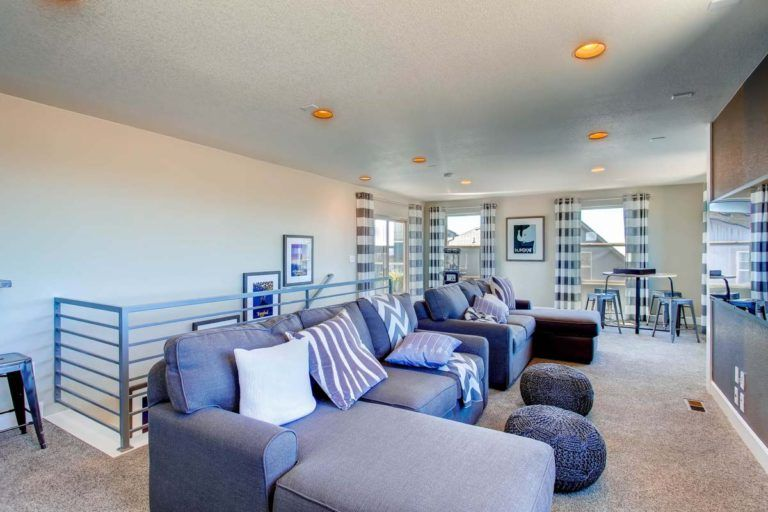 Living Area featured in the Surrey By Oakwood Homes in Colorado Springs, CO