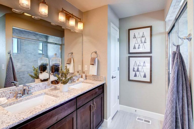 Bathroom featured in the Surrey By Oakwood Homes in Colorado Springs, CO