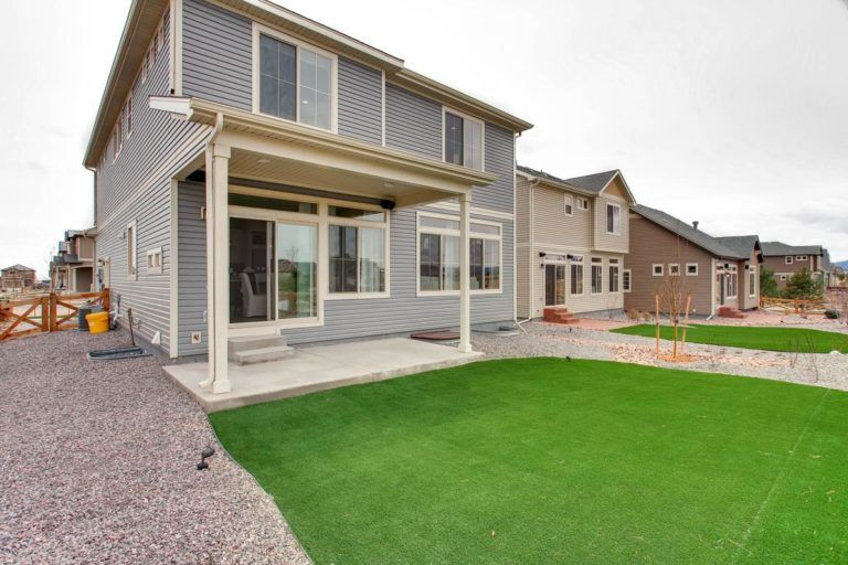 Exterior featured in the Hudson By Oakwood Homes in Colorado Springs, CO