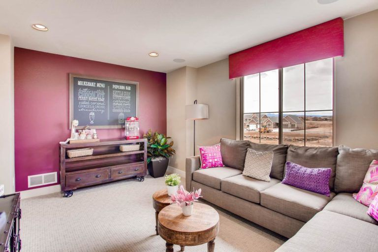 Living Area featured in the Hudson By Oakwood Homes in Colorado Springs, CO
