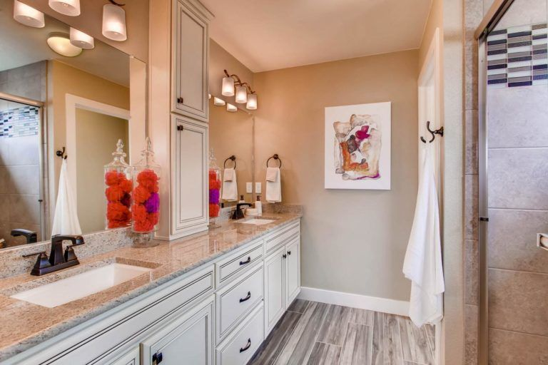 Bathroom featured in the Hudson By Oakwood Homes in Colorado Springs, CO