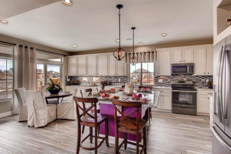 Kitchen featured in the Hudson By Oakwood Homes in Colorado Springs, CO