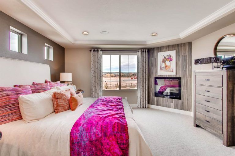 Bedroom featured in the Hudson By Oakwood Homes in Colorado Springs, CO