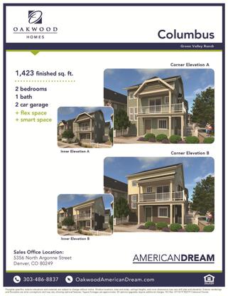 Columbus Elevations