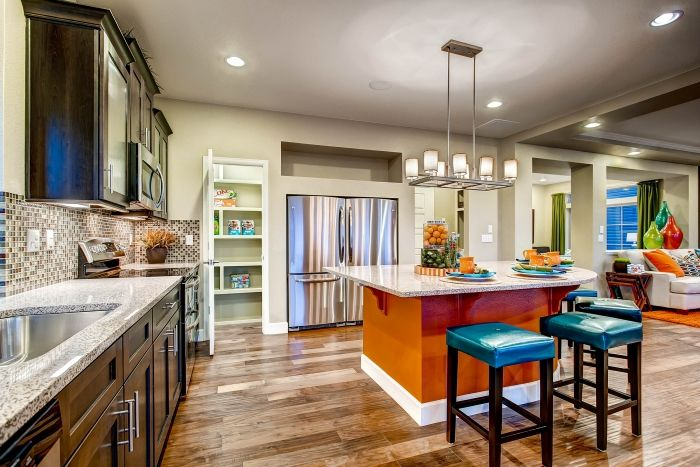 Kitchen featured in the Yampa By Oakwood Homes Colorado in Denver, CO