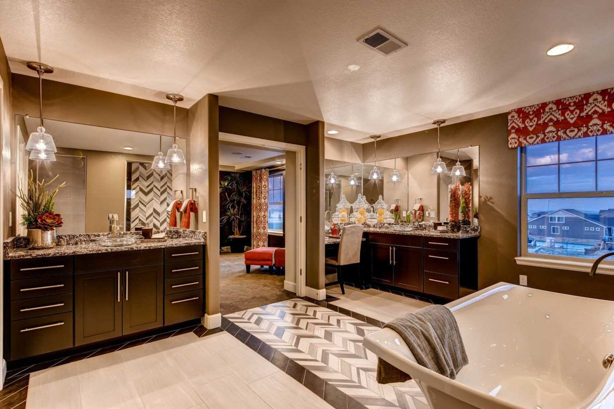 Bathroom featured in the Broadmoor By Oakwood Homes Colorado in Denver, CO