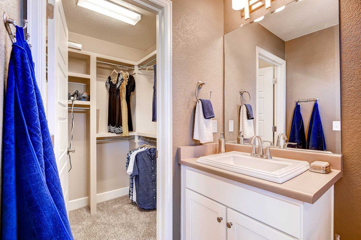 Bathroom featured in the Chaise By Oakwood Homes Colorado in Denver, CO