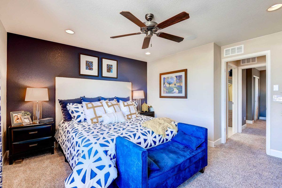 Bedroom featured in the Chaise By Oakwood Homes Colorado in Denver, CO