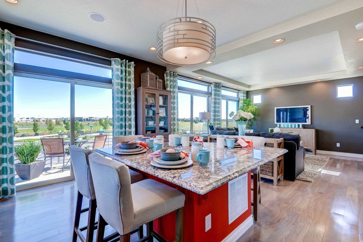 Living Area featured in the Telega By Oakwood Homes Colorado in Denver, CO