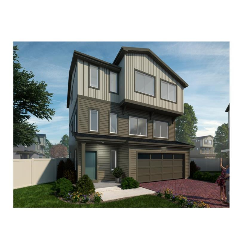 Exterior featured in the St. Julien By Oakwood Homes in Denver, CO