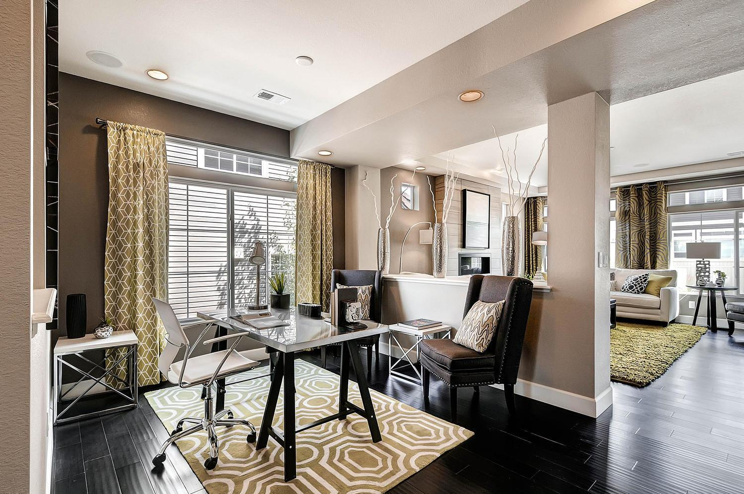 Living Area featured in the Yampa By Oakwood Homes Colorado in Fort Collins-Loveland, CO