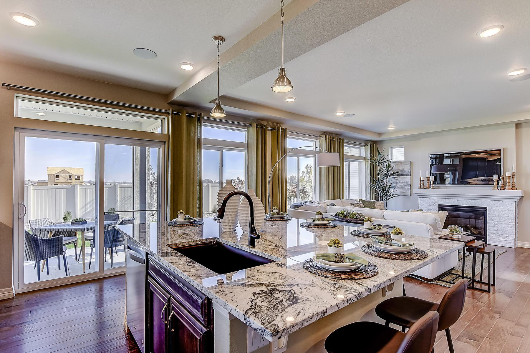 Kitchen featured in the Lansford By Oakwood Homes Colorado in Fort Collins-Loveland, CO