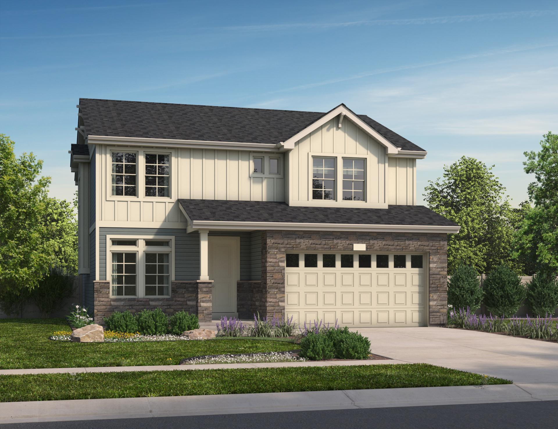 Exterior featured in the Bennet By Oakwood Homes in Fort Collins-Loveland, CO