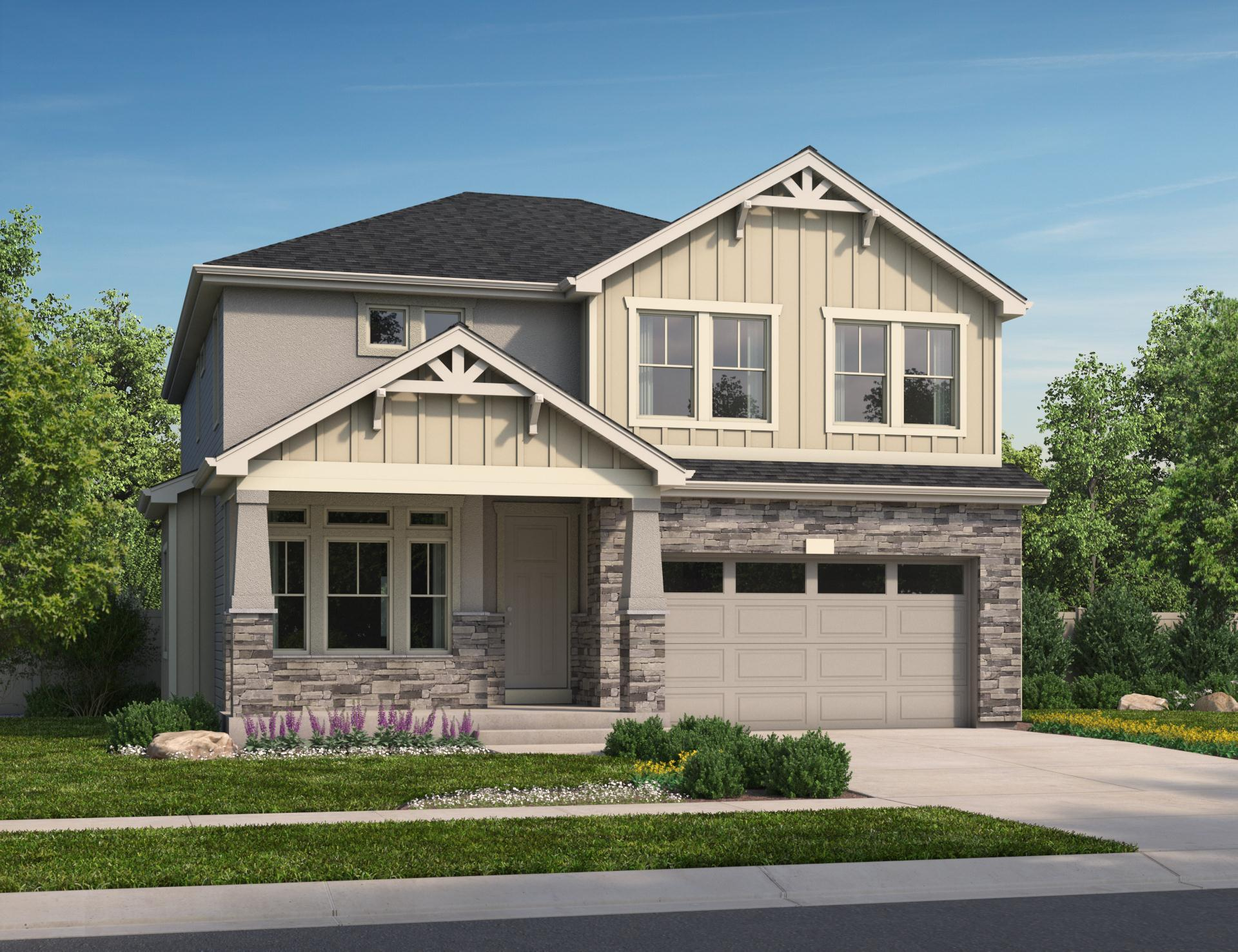 Exterior featured in the Branson By Oakwood Homes Colorado in Fort Collins-Loveland, CO