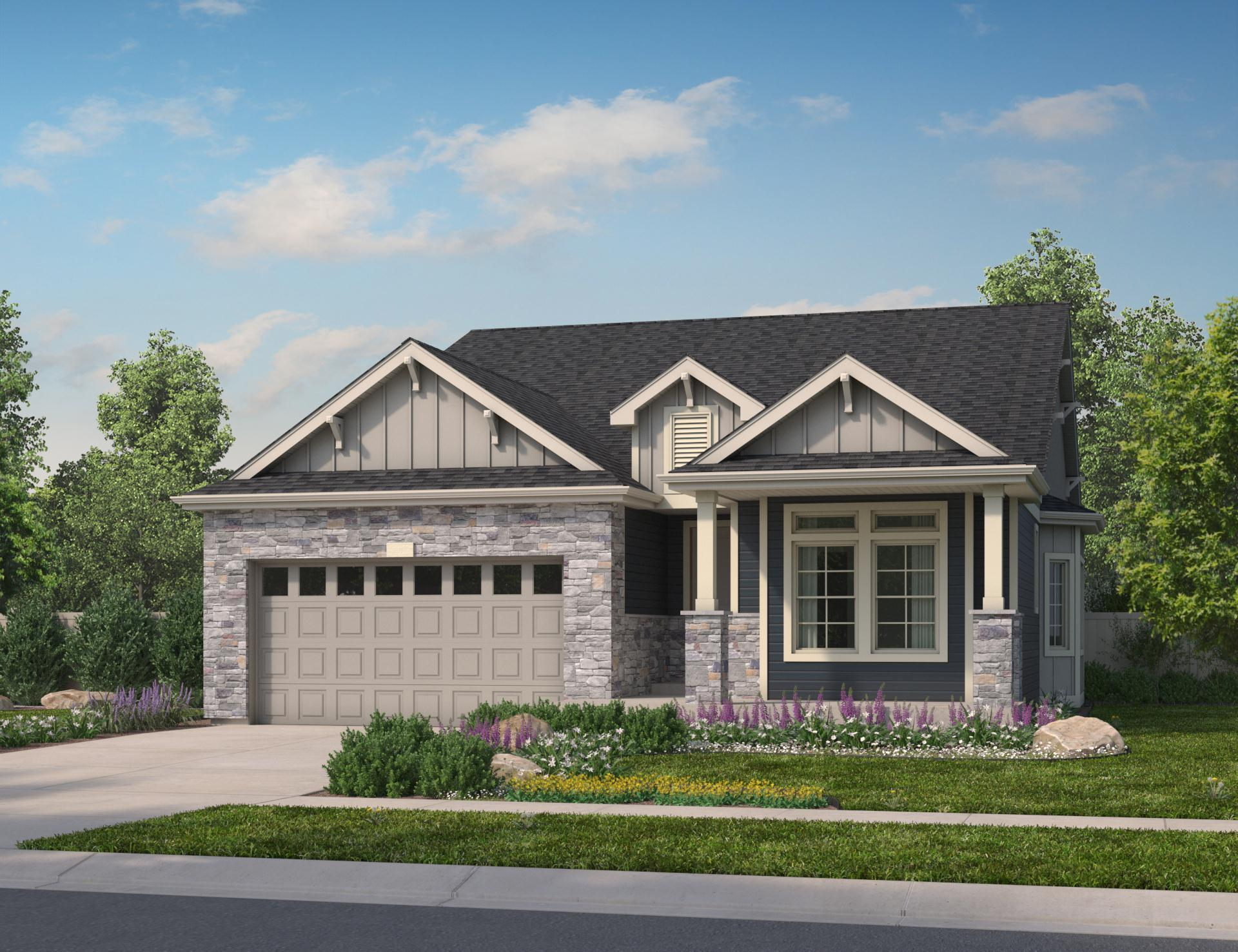Exterior featured in the Dillon By Oakwood Homes in Fort Collins-Loveland, CO