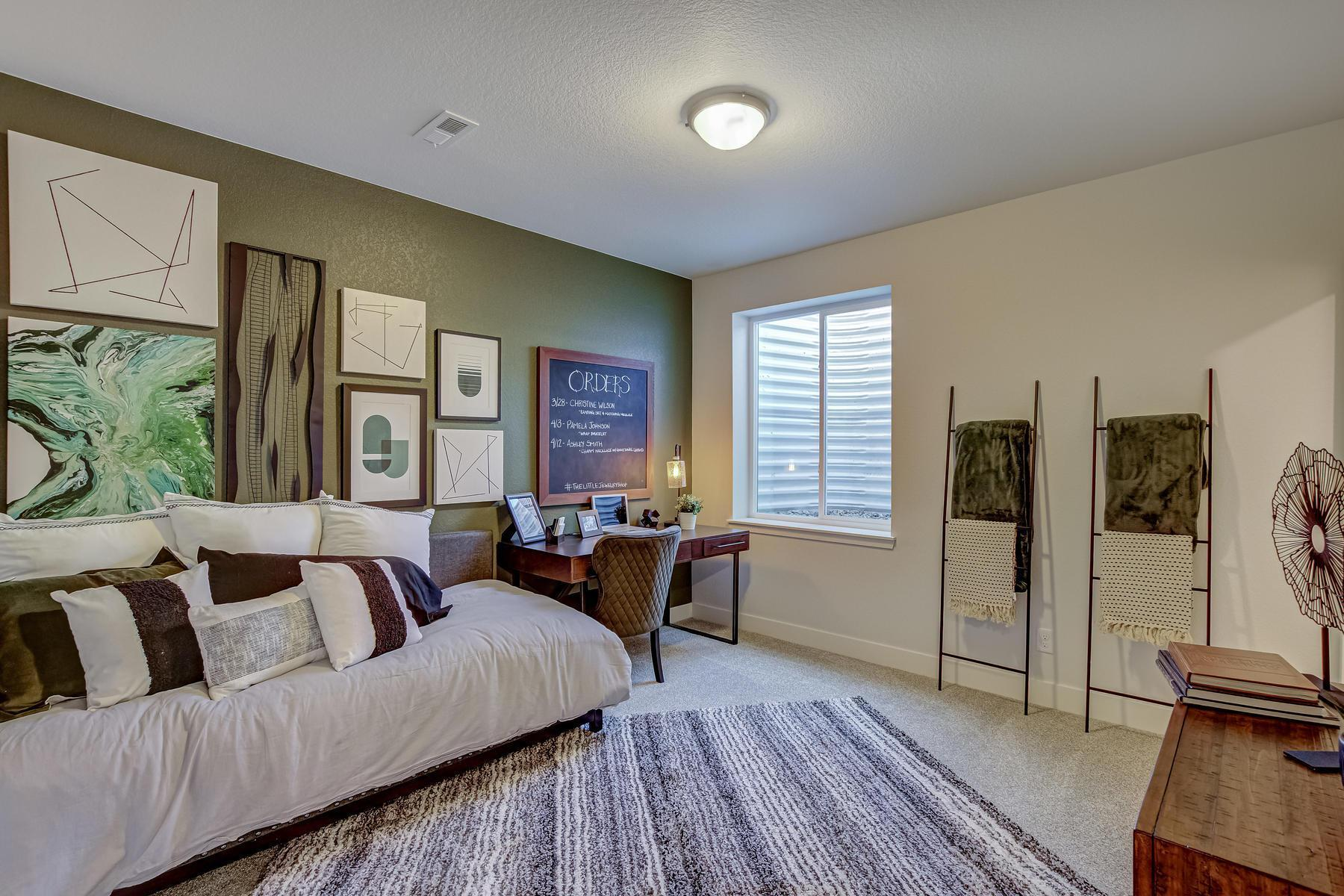 Bedroom featured in the Dillon  By Oakwood Homes Colorado in Denver, CO