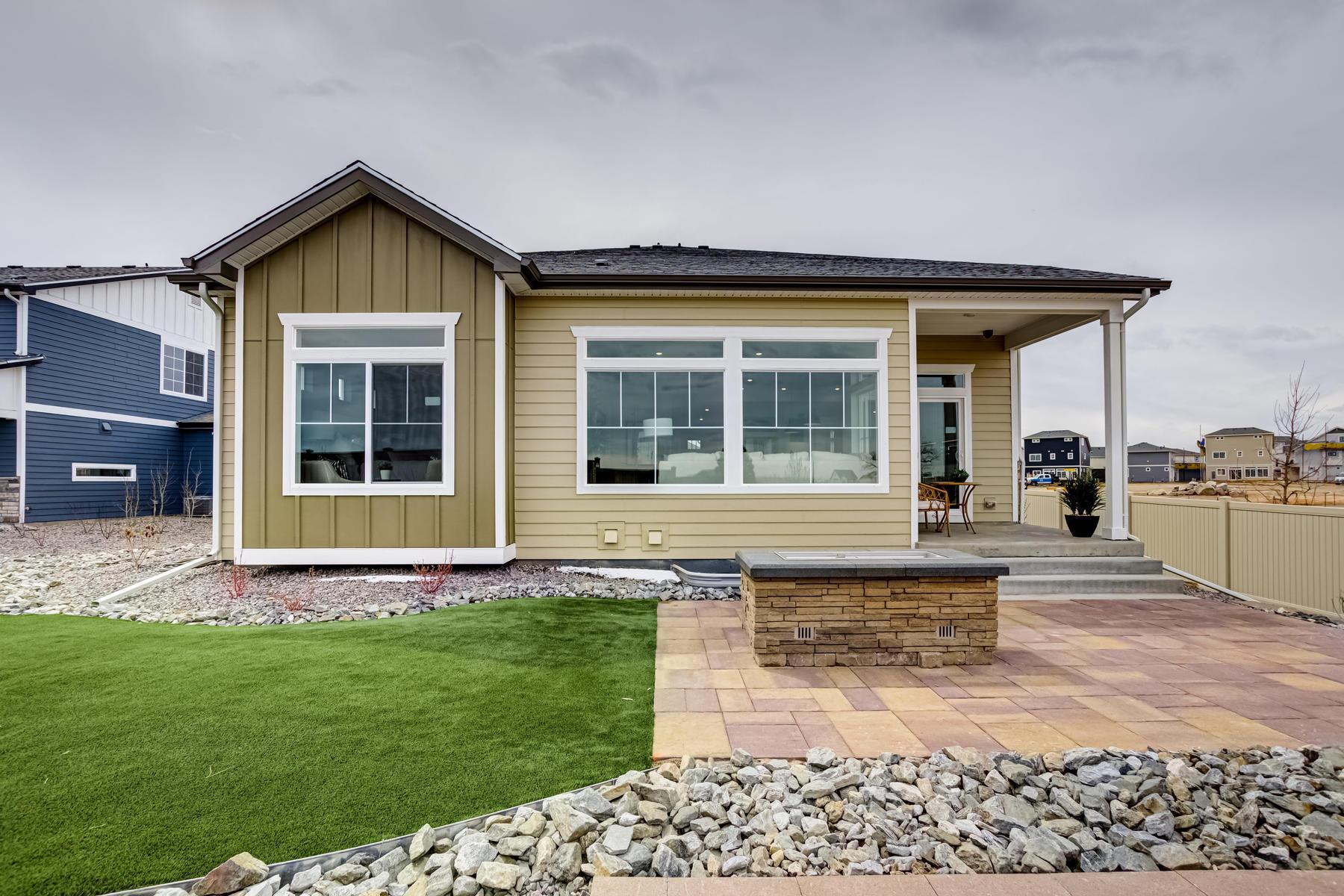 Exterior featured in the Dillon  By Oakwood Homes Colorado in Denver, CO