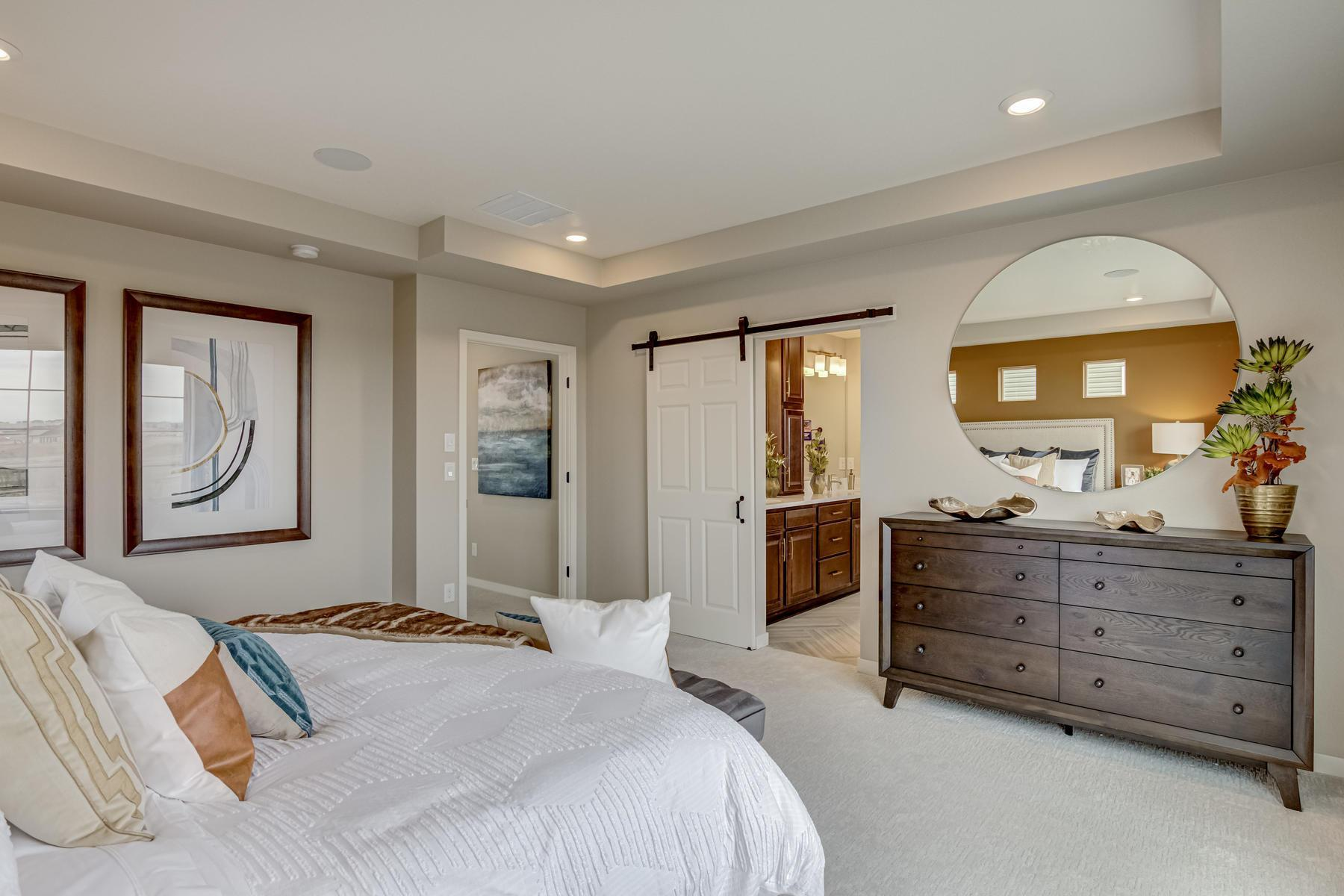 Bedroom featured in the BENNET By Oakwood Homes in Denver, CO