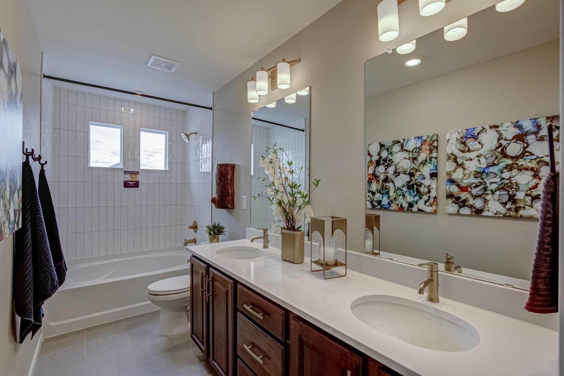 Bathroom featured in the BENNET By Oakwood Homes in Denver, CO