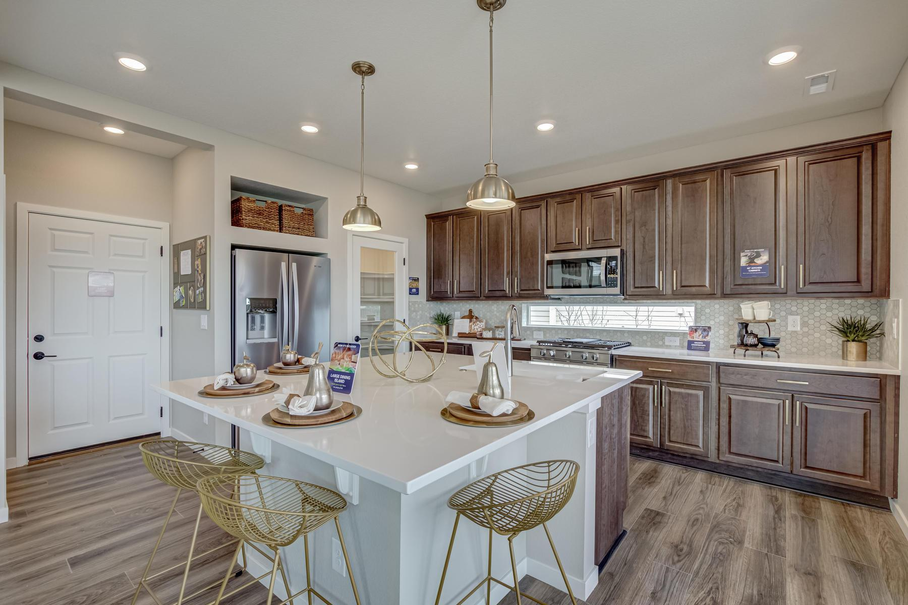 Kitchen featured in the BENNET By Oakwood Homes in Denver, CO